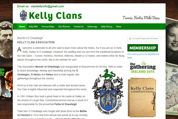This group provides a meeting place for people interested in the genealogy and history of the Kelly clan.