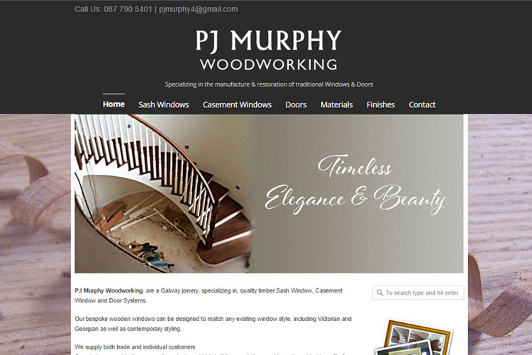 High quality woodwork and cabinetry company specializing in period properties.